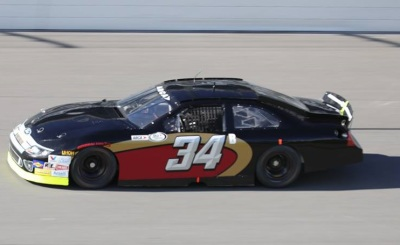 The #34 Ford of Mullins Racing.  (Mullins Racing Photo)