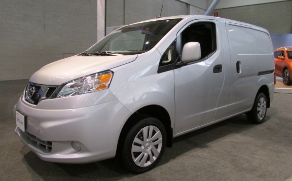 The Nissan NV200  (Mike Twist Photo)