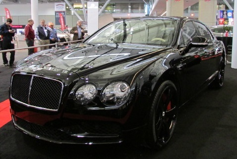 The Bentley Flying Spur W12 S  (Mike Twist Photo)