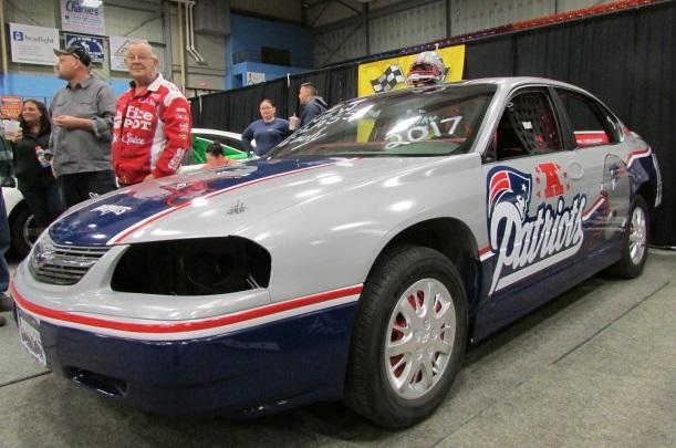 The Patriots Impala of Unity Raceway.  (Mike Twist Photo)
