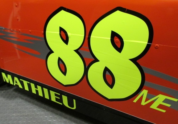 The #88 Acura of Mike Mathieu.  (Mike Twist Photo)