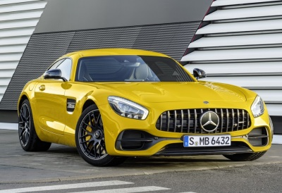 The 2018 Mercedes-Benz AMG GT C Coupe  (Mercedes-Benz Photo)