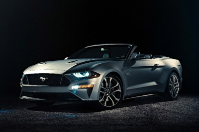 The 2018 Ford Mustang Convertible (Ford Photo)