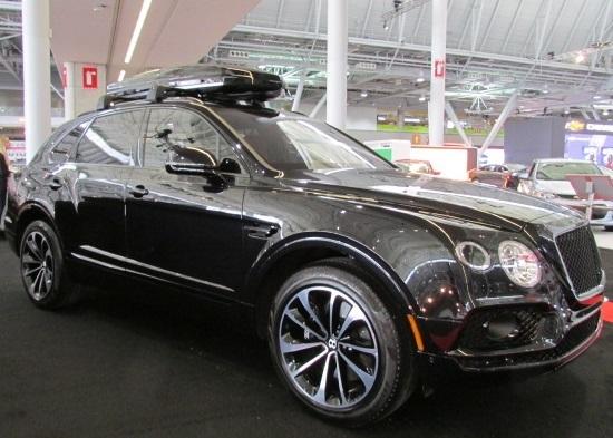 The Bentley Bentayga  (Mike Twist Photo)