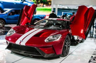 The Ford GT  (Ford Photo)