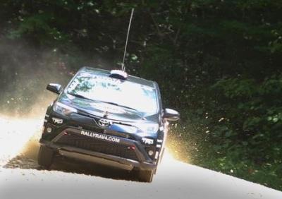 The RAV4 Rally Racer.  (Toyota Photo)