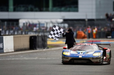 Ford has a rich history at LeMans.  (Ford Motor Company Photo)
