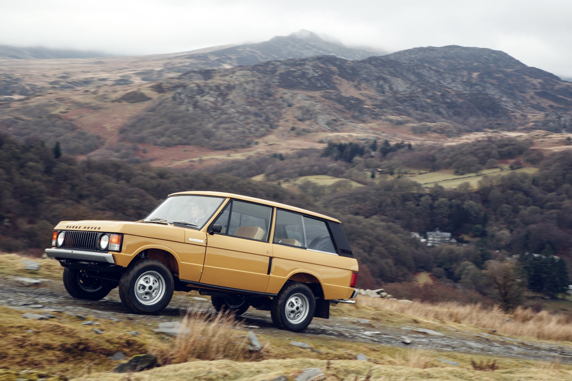 The restored 1979 Range Rover Three Door  (Range Rover Photo)