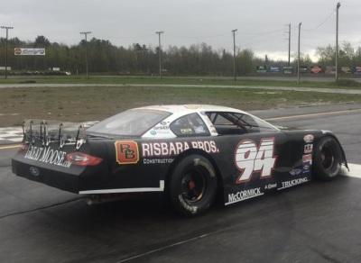 Garrett Hall's #94 Super Late Model.  (Mike Twist Photo)