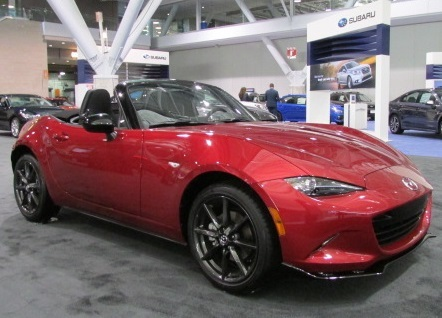 The Mazda MX-5 Miata  (Mike Twist Photo)