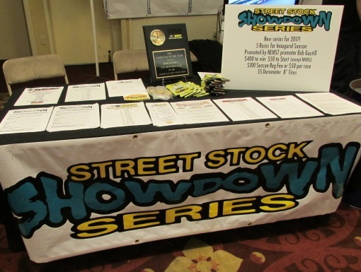 The Street Stock Showdown Series was announced at The Racer's Expo.  (Mike Twist Photo)