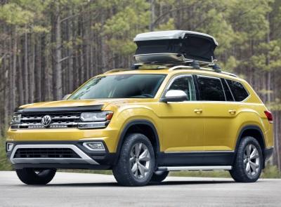 The Volkswagen Atlas Weekender.  (VW Photo)