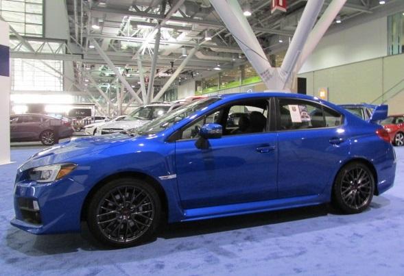 Subaru WRX Sti  (Mike Twist Photo)