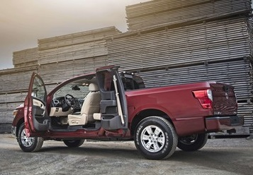 The Nissan Titan King Cab  (Nissan Photo)