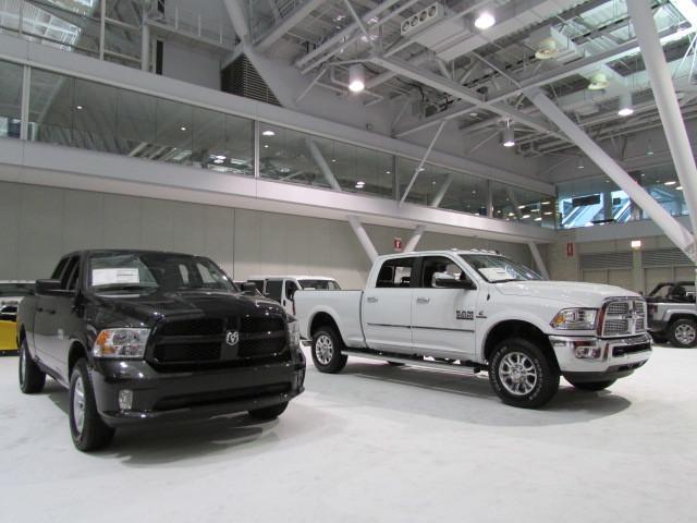 A pair of Ram Trucks  (Mike Twist Photo)