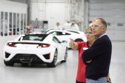 The NSX Insider Experience  (Acura Photo)