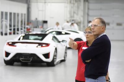 The NSX Insider Experience  (Acura Photo)