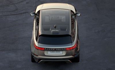 A peek at the Range Rover Velar.  (Range Rover Photo)