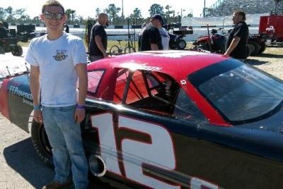 Derek Griffith at New Smyrna  (Derek Griffith Motorsports Photo)