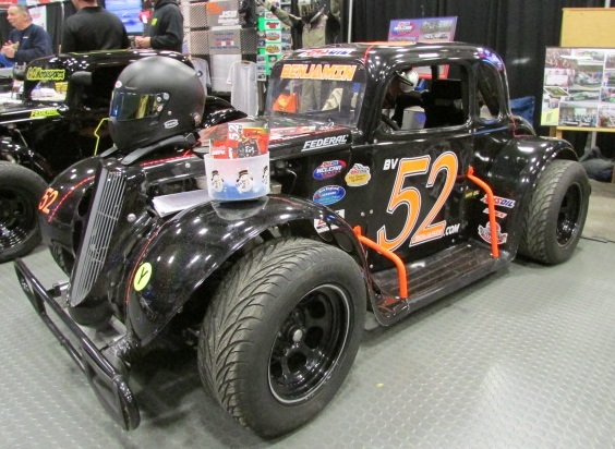 Legend cars will be one of the featured types of racing in CC Racer Magazine.  (Mike Twist Photo)