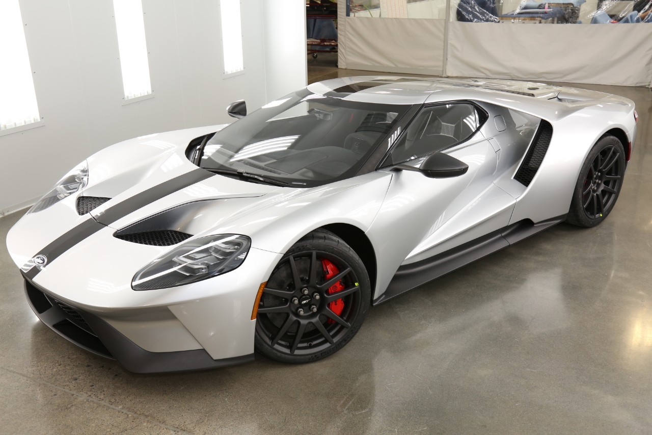 The Ford GT Competition Series.  (Ford Motor Company Photo)
