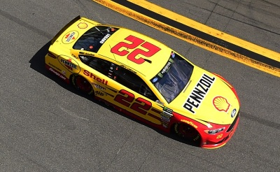 Joey Logano's #22 Ford.  (NASCAR Photo)