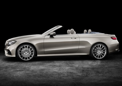 Convertible is Added to 2018 Mercedes-Benz E-Class Lineup