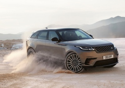 The Range Rover Velar.  (Land Rover Photo)