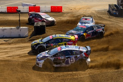 Red Bull Global Rally Cross in Los Angeles  (Ford Motor Company Photo)