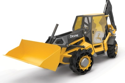 The Designworks Backhoe.  (Designworks Photo)