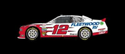 The #12 Ford Mustang  (NASCAR Image)