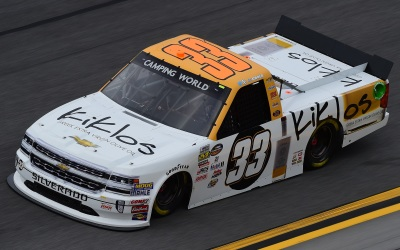 Kaz Grala's #33 Truck.  (NASCAR Photo)