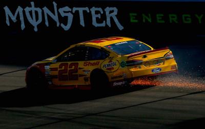 Joey Logano and his #22 team had a bad day at Phoenix.  (NASCAR Photo)