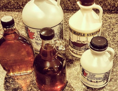 Sweet Maple Syrup  (Wells Family Syrup Photo)