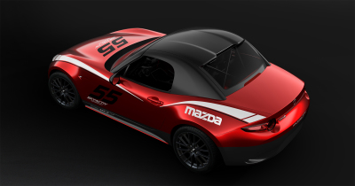 The Miata Hardtop - for racing use only.  (Mazda Photo)