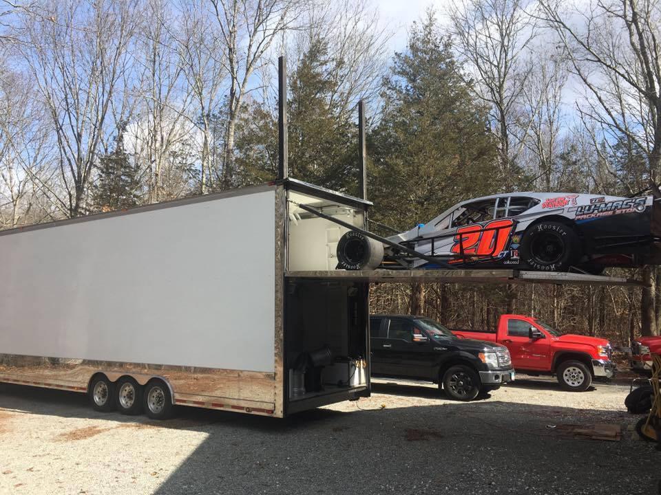 Max Zachem's #20 gets loaded up.  (Max Zachem Photo)