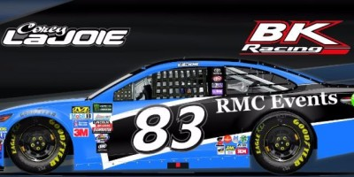 RMC Events To Back Corey LaJoie for Martinsville