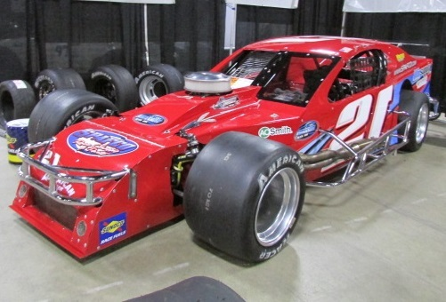 The #21 Art Barry-owned Modified  (Mike Twist Photo)