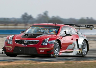 The #3 Cadillac ATS-V racecar.  (General Motors Photo)