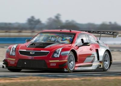 The #3 Cadillac ATS-V racecar.  (General Motors Photo)