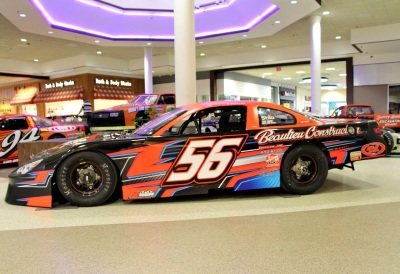 Evan Beaulieu's #56 at the Auburn Mall.  (Sandy Haley Photo)