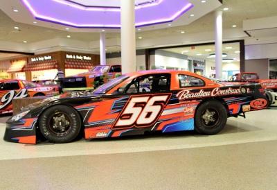 Evan Beaulieu's #56 at the Auburn Mall.  (Sandy Haley Photo)