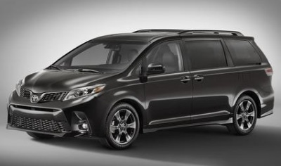 The 2018 Toyota Sienna.  (Toyota Photo)