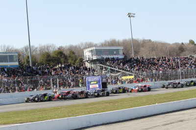 The Icebreaker is a popular event at Thompson.  (NASCAR Photo)