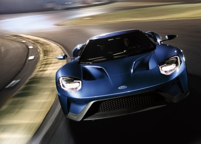 The Ford GT.  (Ford Motor Company Photo)