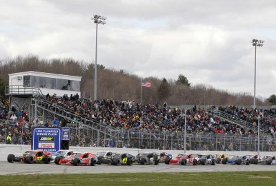 TheNASCAR Whelen Modified Tour is one of the races of The Icwebreaker.  (NASCAR Photo)