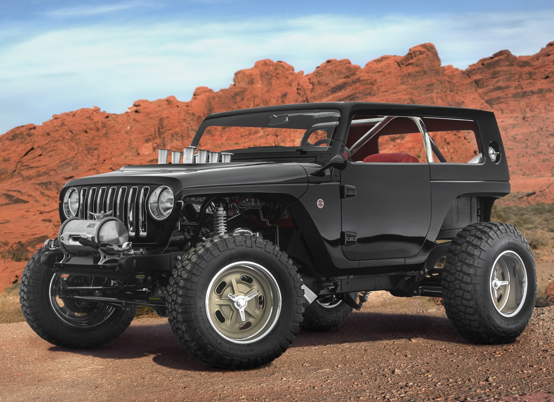 The Jeep Quicksand concept.  (FCA Photo)