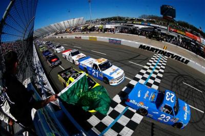 The Truck Series race at Martinsville.  (NASCAR Photo)