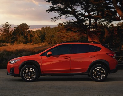 The 2018 Subaru Crosstrek.  (Subaru Photo)