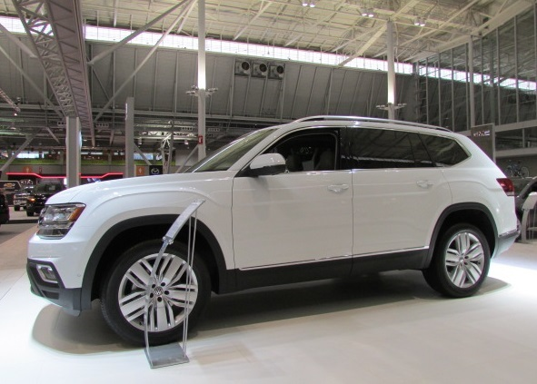 The new Volkswagen Atlas.  (Mike Twist Photo)